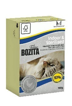 Bozita Cat Tetra Recart Feline Indoor & Sterilised 190g
