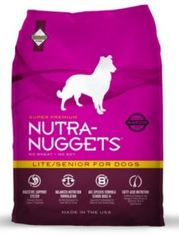 Nutra Nuggets Lite/Senior Dog 15kg