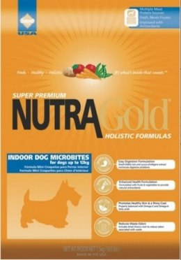 Nutra Gold Holistic Indoor Adult Dog Microbites 7,5kg