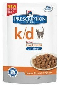 Hill's Prescription Diet k/d Feline Łosoś saszetka 85g
