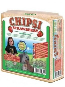 Chipsi Strawberry Ściółka 15L / 1kg