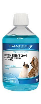 Francodex Fresh Dent płyn do higieny jamy ustnej 500ml [FR179121]