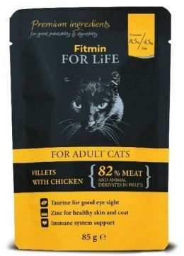 Fitmin Cat For Life Adult Chicken saszetka 85g