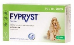 Fypryst Spot-On Pies 10-20kg - 134mg/1,34ml - 1 sztuka