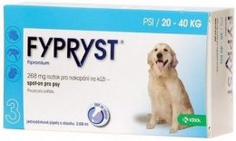 Fypryst Spot-On Pies 20-40kg - 268mg/2,68ml - 1 sztuka