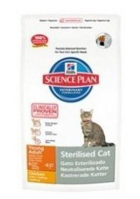 Hill's Science Plan Feline Young Adult Sterilised Cat Kurczak 300g