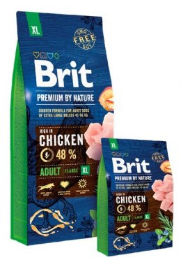 Brit Premium By Nature Adult XL Extra Large 15kg