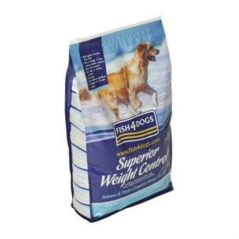 Fish4Dogs Superior Salmon Weight Control Adult Small 6kg+6kg