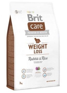 Brit Care New Weight Loss Rabbit & Rice 3kg