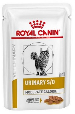Royal Canin Veterinary Diet Feline Urinary S/O Moderate Calorie saszetka 85g