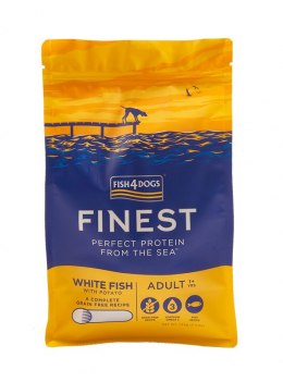 Fish4Dogs Finest Ocean White Fish Adult Small 6kg+6kg