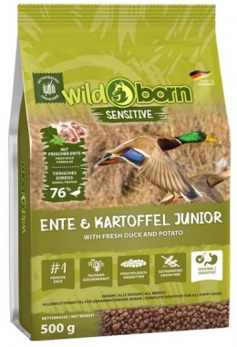 Wildborn Sensitive Ente & Kartoffel Junior 500g