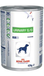 Royal Canin Veterinary Diet Canine Urinary S/O puszka 410g